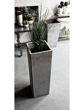Donica betonowa 25x25x60cm