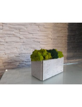 Concrete rectangular pot...