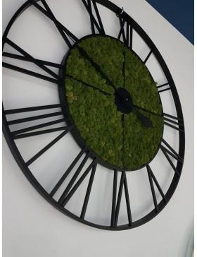 Zegar żeliwny z chrobotkiem...