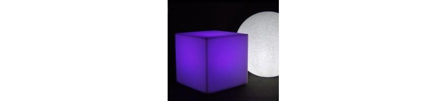Donice z podświetleniem